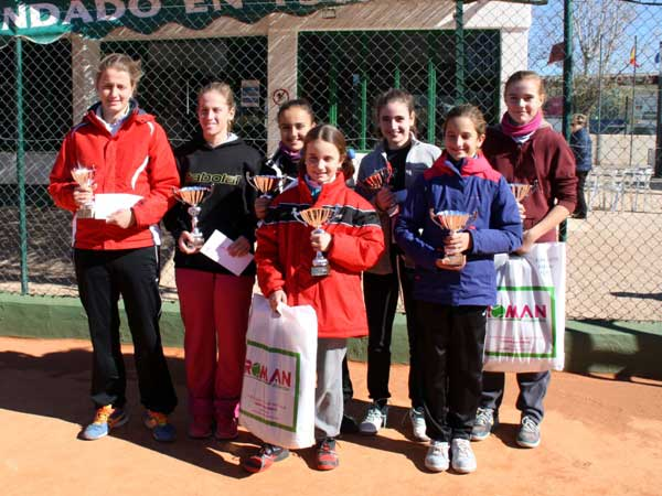 Alumnas Nuevo Nivel Tenis