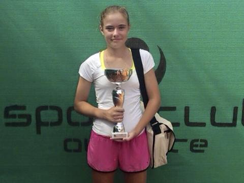 Sasha Evdokimova nuevo nivel tenis