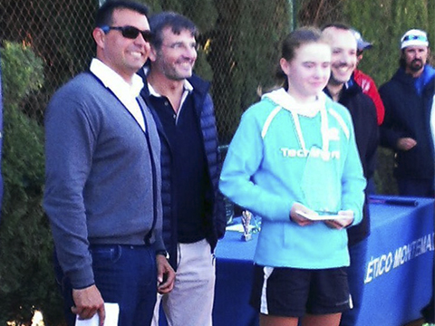 Sasha Evdokimova escuela nuevo nivel tenis los lacazares