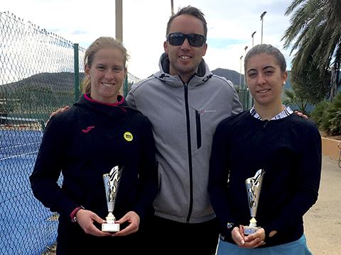 María Cantón y Alba Pedrero nuevo nivel tenis