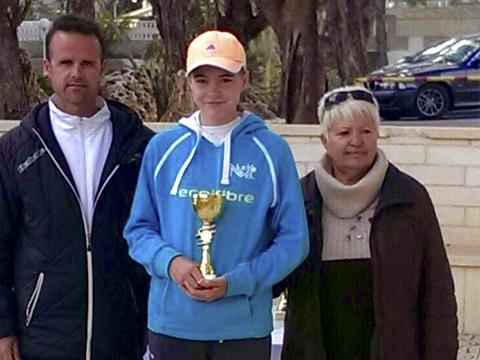 Sasha Evdokimova nuevo nivel tenis los alcazares