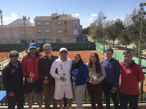 campeones campeonato social nuevo nivel tenis los alcazares