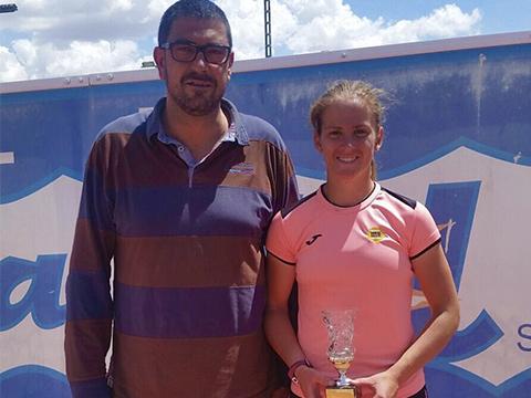 Alba Pedrero nuevo nivel tenis los alcazares murcia