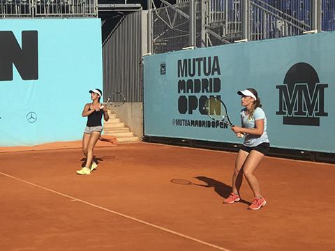 Alba Pedrero nuevo nivel tenis mutua madrid
