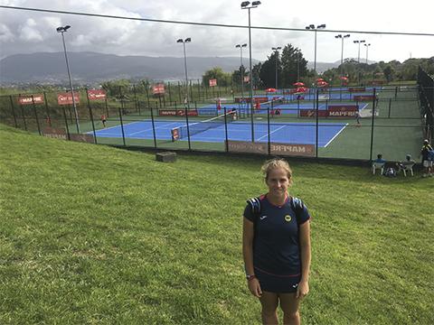 Alba Pedrero nuevo nivel tenis