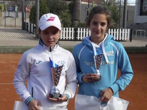 Laura Martinez finalista torneo Villa de Torre Pacheco Nuevo Nivel Tenis