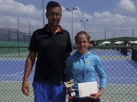 Alba Pedrero campeona del nacional celebrado en el club el limonar de Santomera