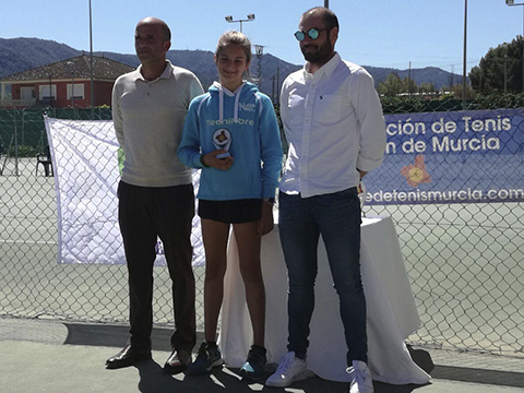 laura martinez finalista club cordilleranuevo nivel tenis