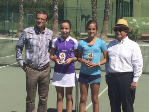 Laura Martinez escuela nuevo nivel tenis lo alcazares murcia