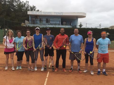 curso alumnos nottingham tennis center nuevo nivel tenis los alcazares