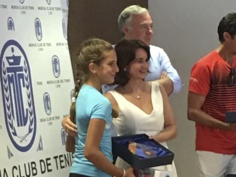 Laura Martinez Ruiz ganadora circuito promesas Murcia Nuevo nivel