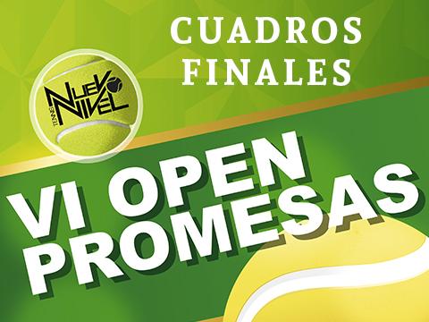 CUADROS FINALES open promesas nuevo nivel tenis los alcazares