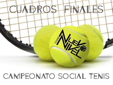 Campeonato social Los alcazares Nuevo Nivel Tenis abril 2018