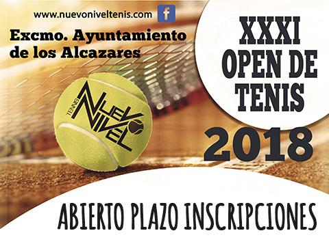 campeonato open tenis nuevo nivel los alcazares murcia