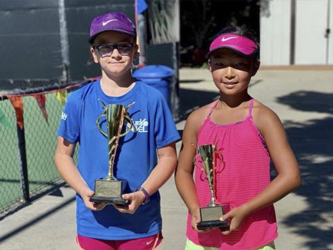 Sofia Ward nuevo nivel tenis los alcazares